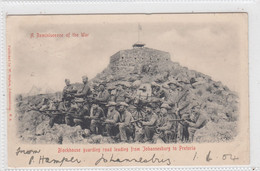 Blockhouse Guarding Road Leading From Johannesburg To Pretoria. - Other Wars
