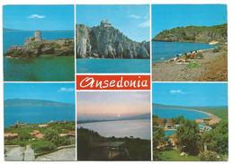 AA1281 Orbetello (Grosseto) - Ansedonia - Panorama Vedute Multipla / Non Viaggiata - Altre Città