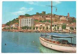 AA1282 Castiglione Della Pescaia - Il Canale E Hotel Roma - Barche Boats Bateaux - Panorama / Non Viaggiata - Altre Città