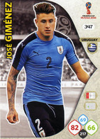 Trading Cards Panini Football Fifa World 2018 Russia Adrenalyn Uruguay 347 Jose Gimenez - French Edition