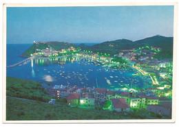 AA1286 Monte Argentario (Grosseto) - Porto Ercole - Panorama Notturno Notte Nuit Night Nacht / Viaggiata 1990 - Altre Città
