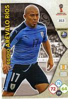 Trading Cards Panini Football Fifa World 2018 Russia Adrenalyn Uruguay 343 Arevalo Rios Egidio - French Edition