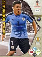 Trading Cards Panini Football Fifa World 2018 Russia Adrenalyn Uruguay 354 Cristian Rodriguez - French Edition