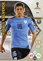 Trading Cards Panini Football Fifa World 2018 Russia Adrenalyn Uruguay 356 Federico Valverde - French Edition