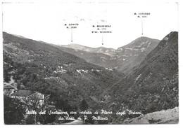 AA1290 Abetone (Pistoia) - Valle Del Sestaione Con Piano Degli Ontani - Panorama Da Casa Di Paride Milianti - Altre Città