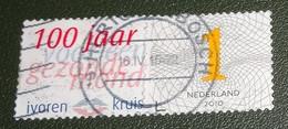 Nederland - NVPH - 2750 - 2010 - Gebruikt - Cancelled - Persoonlijke Zakenzegel - Ivoren Kruis - 100 Jaar Gezonde Mond - Used Stamps