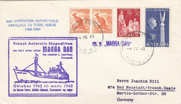 Antarctica AAT Cover 1963 - Cartas
