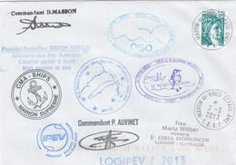 Antarctica TAAF Cover 1985-2010 - Briefe U. Dokumente