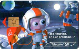 Télécartes 50 - France Telecom Allo Houston - Année 2003 - Operatori Telecom