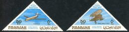 Sharjah 1965 Lilienthal Glider Biplane Planeur Biplan, Sud-Est Aviation Caravelle (YT 88, ST Gibbons 121) - Aerei