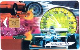 Télécartes 50 - France Telecom Carte N° 5 L'automobile - Année 2001 - Operatori Telecom