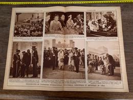 1930 PATI1 Inauguration Exposition Internationale Industrielle Scientifique Artistique à Liège - Sin Clasificación