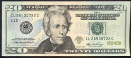 USA 20 Dollars 2006 L  - XF+ # P- 526 < L12 - San Francisco CA > - Billets De La Federal Reserve (1928-...)