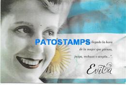 169928 ARGENTINA POLITICA PERONISMO EVA PERON EVITA IN CORREO ARGENTINO POSTAL STATIONERY POSTCARD - Postwaardestukken