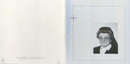 DOODPRENTJE - ZUSTER BERTHA GEYSKENS(ZUSTER BONAVENTURA )(° TESSENDERLO 1906 /+ GEEL 2004) (dp 24) - Overlijden