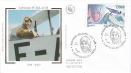 France FDC Premier Jour Soie PA68 Adrienne Bolland 2005 - 2000-2009
