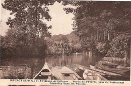 91 BRUNOY BORDS DE L'YERRES,près Du RESTAURANT BONNEFOY - Brunoy