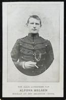 DOODPRENTJE -JAN- ALFONS-HELSEN ECHTNOOT VAN E. COWEZ (° GHEEL1891/+ ADINKERKE 1916) (dp 31) - Overlijden