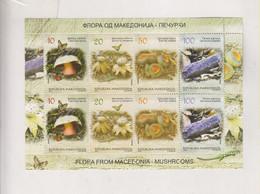 MACEDONIA 2013 Mushroom Sheet MNH - Mazedonien