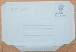 Ile De Man - Entier Postal - AEROGRAMME - REINE ELIZABETH - 14p - Neuf - Man (Ile De)