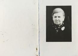 DOODPRENTJE - MARIA ROSALIE LEONIA ECHTGENOOT VAN  L.VAN ROIE(° GEEL 1899 /+ OOSTERLO 1973 (dp 35 )) - Overlijden