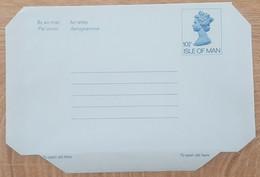 Ile De Man - Entier Postal - AEROGRAMME - REINE ELIZABETH - 10p1/2 - Neuf - Man (Ile De)