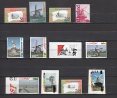 Netherlands Stadspost,12V,lot,mills.molens,mühlen,moulins,molinos,mulini,MNH/Postfris(C603) - Mühlen