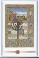 Belgien   Block 62, Gestempelt, Das Missale Romanum Von König Matthias Corvinus, 1993 - Blocks & Kleinbögen 1962-....