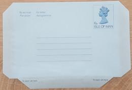 Ile De Man - Entier Postal - AEROGRAMME - REINE ELIZABETH - 6p  - Neuf - Man (Ile De)