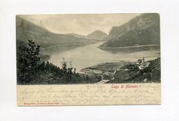 1903 Italien ( Österreich ) Alte Ansichtskarte Lago Di Molveno Frankiert, Gestempelt Trento - Trento