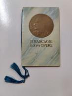 Calendario 1938 Mascagni Le Sue Opere Cavalleria Rusticana - Unclassified
