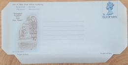 Ile De Man - Entier Postal - AEROGRAMME - REINE ELIZABETH - 7p - Neuf - Man (Ile De)