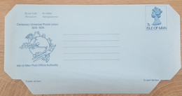 Ile De Man - Entier Postal - AEROGRAMME - REINE ELIZABETH / UPU - 7p - Neuf - Man (Ile De)