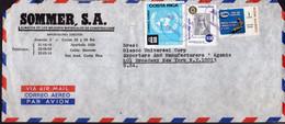 Costa Rica - 1978 - Lettre - Via Air Mail - Envoye En USA - A1RR2 - Costa Rica