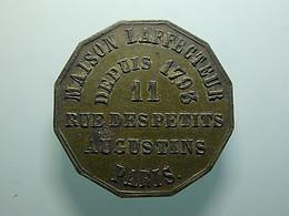 Token Or Medal Maison Laffecteur Paris 1778 - Unclassified