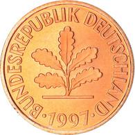 Monnaie, République Fédérale Allemande, 2 Pfennig, 1997, Karlsruhe, BE, SPL - 2 Pfennig