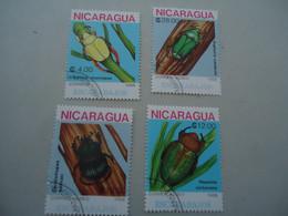 NICARAGUA USED   STAMPS INCECTS - Nicaragua