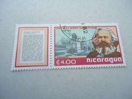 NICARAGUA MNH  STAMPS MARX  KARL - Nicaragua