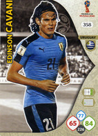 Trading Cards Panini Football Fifa World 2018 Russia Adrenalyn Uruguay 358 Edinson Cavani - French Edition