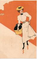 LES PARISIENNES DANS LA RUE ILLUSTRATEUR DES ANNEES 1900 - Unclassified