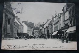 CPA Eure Et Loir - Dreux (28100) Grande Rue – Marcel Durvie 8 – Animée - A Voyagé En 1904. - Dreux
