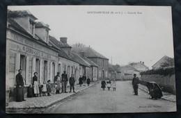 CPA Eure Et Loir - Goussainville (28410) Grande Rue – Musson Edit. Houdan -  A Voyagé. - Other Municipalities