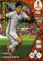 Trading Cards Panini Football Fifa World 2018 Russia Adrenalyn Fans Favorite 377 Sardar Azmoun - French Edition