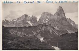 (QU451) - PASSO DI ROLLE (Trento) - Panorama Verso Il Gruppo Di Pala - Dolomiti - Trento