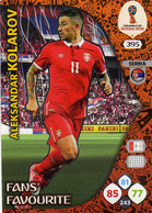 Trading Cards Panini Football Fifa World 2018 Russia Adrenalyn Fans Favorite 395 Kolarov - French Edition