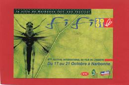 CART'COM----2001----La Ville De NARBONNE Fait Son Festival--voir 2 Scans - Zonder Classificatie
