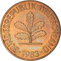Monnaie, République Fédérale Allemande, 2 Pfennig, 1983, Karlsruhe, TB+ - 2 Pfennig
