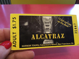 Alcatraz Harbor Tours San Francisco - United States