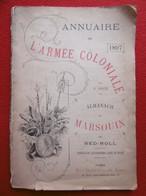 L'ARMÉE COLONIALE ANNUAIRE DE 1897 ALMANACH DU MARSOUIN PAR NED NOLL - Other