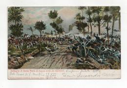 Italia - Battaglia Di Santa Maria Di Capua Vinta Da Garibaldi - Viaggiata Nel 1909 ? - (FDC31919) - Other Wars